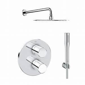 Colonne De Douche Encastrable Grohe : equipements de salle de bain grohe achat vente de equipements de salle de bain grohe ~ Nature-et-papiers.com Idées de Décoration