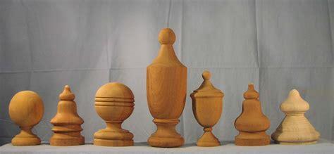 wooden hand rails finials  caps  woodworks company