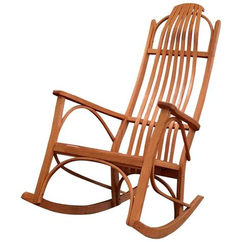 bentwood rocking chair for sale at 1stdibs