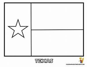 Texas Flag Coloring Page Bebo Pandco