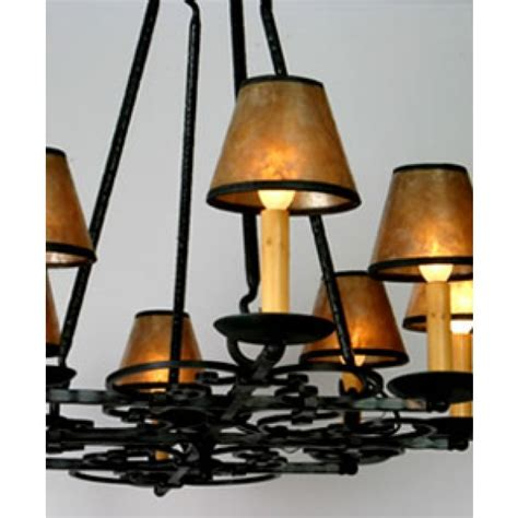 Mica Chandelier by Mica Ls Lf521 Burgandy Chandelier 8 Candle Vintage