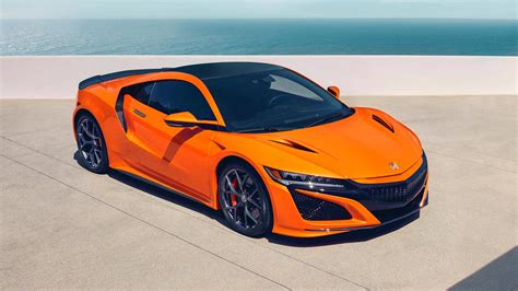 Acura Nsx Headlights Wallpaper by 2019 Acura Nsx Gets Drenched In Thermal Orange At Pebble