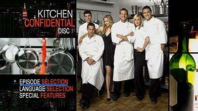 Kitchen Confidential Subtitles by Kitchen Confidential The Complete Series Dvd Talk