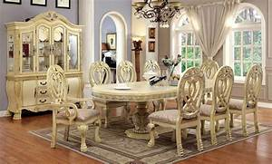 wyndmere, dining, room, set, in, antique, white, by, furniture, of, america
