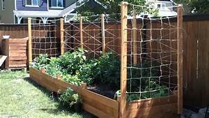 Building a raised garden bed - Part 3 - YouTube