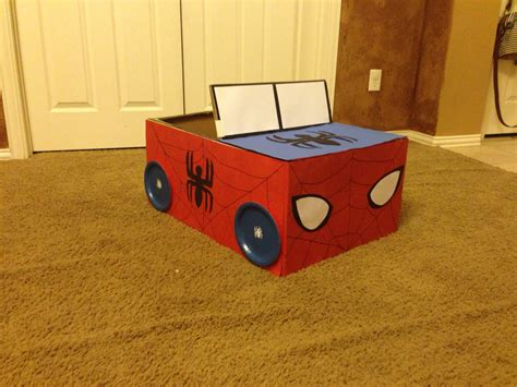 box car for kids spiderman box car made for the kids for the kids