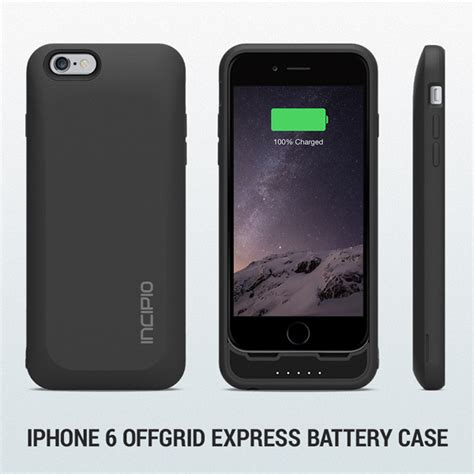 best battery for iphone 6 best battery iphone 6 incipio offgrid recommended by