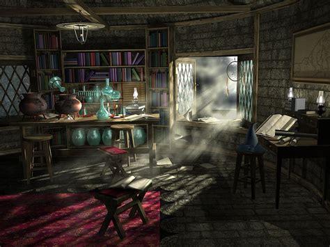 wizards study digital art  mary williams