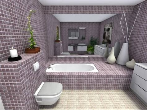 Kitchen Tiles Design Ideas - mauve master bathroom roomsketcher blog
