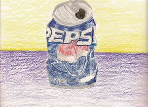 Crushed Pepsi Can by Momo6548 on DeviantArt