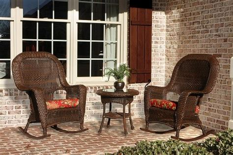 front porch furniture sets real wicker patio sets outdoor