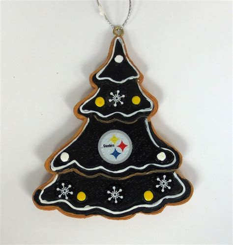 pittsburgh steelers nfl tree ornament steel city collectibles