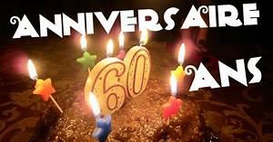 Faire Part Anniversaire 60 Ans : anniversaire 60 ans ~ Edinachiropracticcenter.com Idées de Décoration