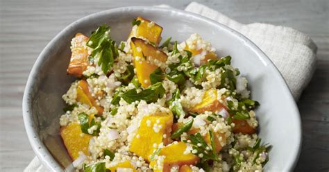 Warmer Quinoa Mit Ofenkürbis Rezept