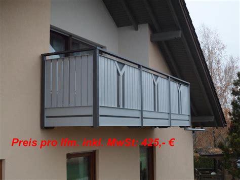 balkongelaender auburger balkongelaender aus aluminium