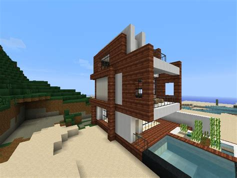 small minecraft houses awesome minecraft small modern beach house small beach houses