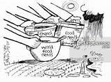 Poverty Drawing Cartoon Getdrawings Farming Industry Drawings Cartoons Comics Paintingvalley sketch template