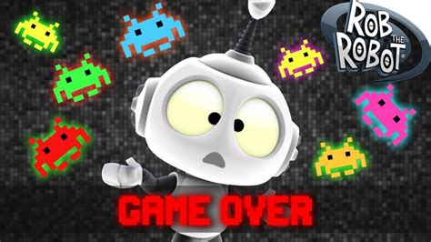 Space Game Cartoons For Kids And