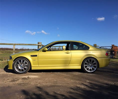 E46 Parts by Bmw E46 M3 Coupe Yellow Bmw E46 Bmw Parts Bmw