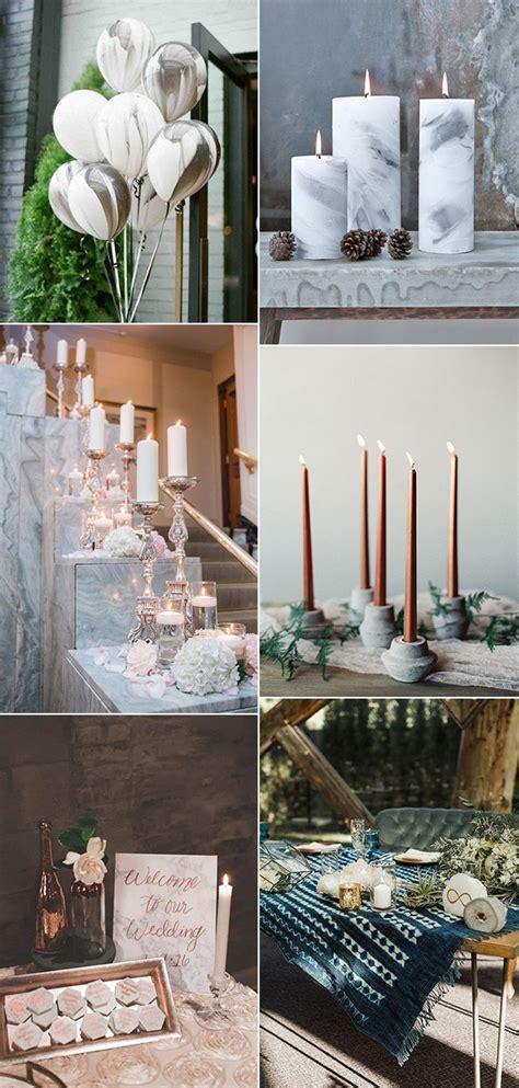 gorgeous marble wedding ideas   trends