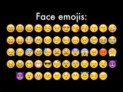 All iPhone Emoji Faces