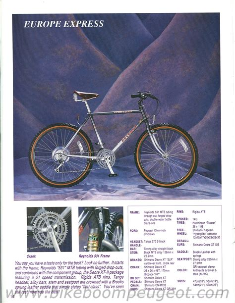 Peugeot Bikes Usa by Classic Steel Suspensionless Mountain Bikes Bike Forums