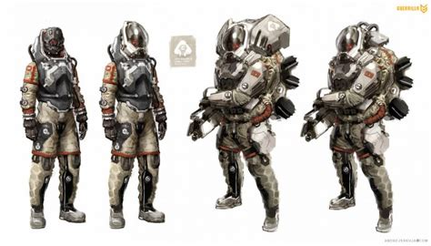 Never Before Seen Killzone Sf Concept Art Cool Helghast