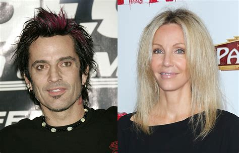 heather locklear wishes  happy  wedding anniversary   tommy lee  throwback kissing