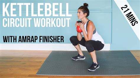 kettlebell circuit amrap workout finisher training workouts tips strength