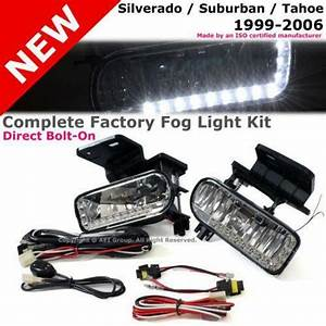 Silverado Fog Light Bumper