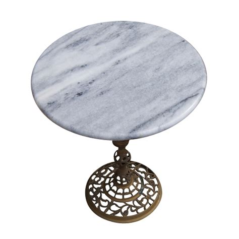 marble and brass side table 15 quot vintage marble and brass side table ebay