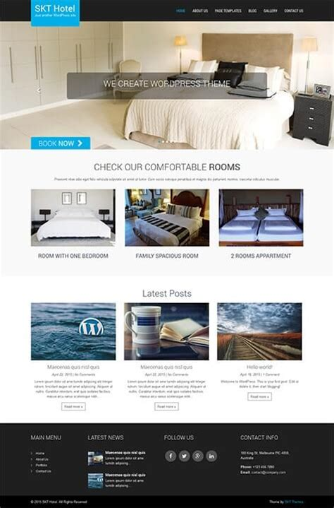 responsive  wordpress themes  slider