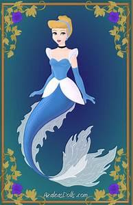 -Cinderella- Disney Mermaids by WolfsGesang on DeviantArt