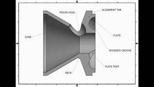 K-baffles 3d Cad Design   22lr Suppressor  Silencer