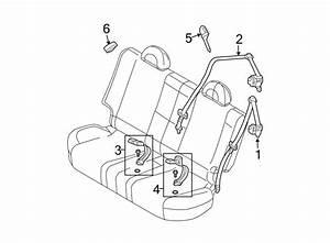 Chevrolet Aveo Seat Belt Receptacle  Hatchback  Sedan