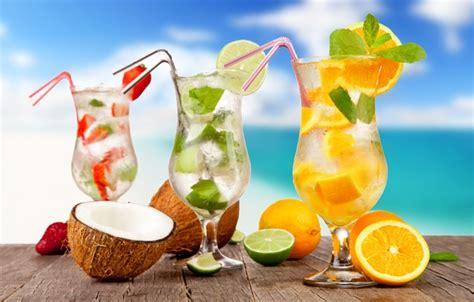 oboi  plyazh kokteyl summer frukty beach fresh sea fruit paradise drink cocktail