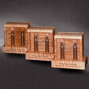 Shell Casing Memory Boxes - Greg Seitz Woodworking