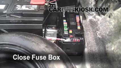 interior fuse box location   chrysler