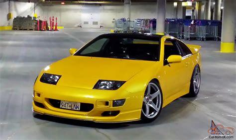 nissan zx twin turbo  door coupe  speed