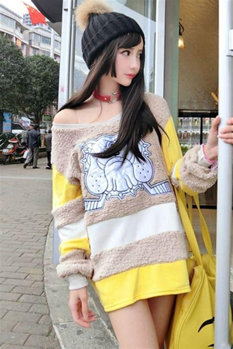 sweater wanita korea big size sweater jyy17297 baju