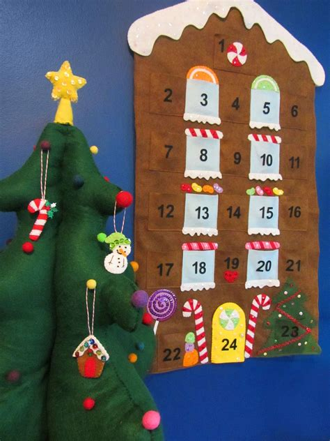 Magicforest Tree Sewing Set gingerbread house advent calendar imagine our