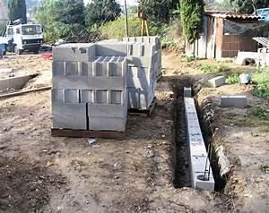 fondation pour garage excellent garage construit sur une With fondation pour un garage en parpaings