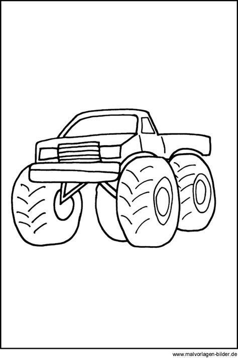 monstertruck zum ausmalen lastwagen graffiti