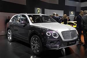 Argus Automobile 2017 Gratuit : top 25 des voitures les plus ch res bentley bentayga 217 300 l 39 argus ~ Gottalentnigeria.com Avis de Voitures