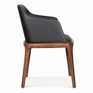 Fauteuil De Salle à Manger : fauteuil de salle manger moderne scarlet en noir cult furniture ~ Teatrodelosmanantiales.com Idées de Décoration