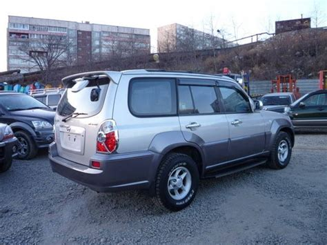 2002 Hyundai Terracan Pictures 2500cc Manual For Sale