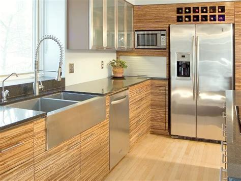 Bamboo Kitchen Cabinets Pictures, Options, Tips & Ideas