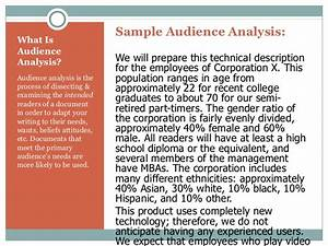 audience analysis definition and examples