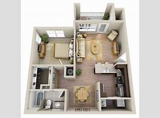 One Bedroom Apartment Homes The Summit at Nashville West