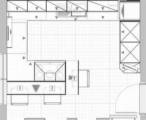 Grundriss Küche Mit Kochinsel : k chenplanung fotoalbum technik bei chefkoch de ~ Bigdaddyawards.com Haus und Dekorationen
